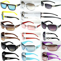 Lot 10 Pairs Random Pick Sunglasses Fashion Designer Shades Mens Women Wholesale