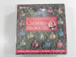 The 60 Greatest Old-Time Radio Christmas Shows Selected by Andy Williams 30x CD