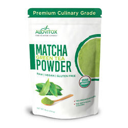 Matcha Organic Green Tea Powder USDA Certified Matcha 16oz Chinese Powder 1LB $17.99