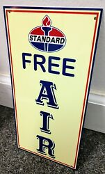 Standard Free Air Sign Gas Gasoline Oil