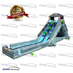 82x16x26ft Commercial Inflatable Bounce Water Slide With 3 Air Blowers