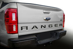 Ranger 2019 Ford Tailgate Inserts Decals Letters Indent Stickers Vinyl Decal SS