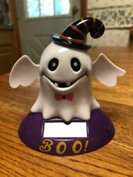 Solar Powered Dancing Toy HALLOWEEN GHOST Large Solar Bobble Head