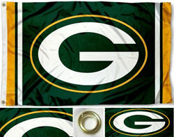 NEW Green Bay Packers Flag Large 3#x27;X5#x27; NFL Banner FREE SHIPPING $14.29