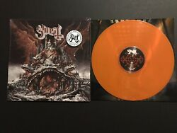 Ghost Prequelle Hot Stuff Exclusive Vinyl LP Orange Numbered