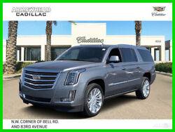 2019 Cadillac Escalade Platinum Edition 2019 Platinum Edition 6.2L V8 16V Automatic 4WD Premium Bose Moonroof