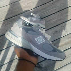 New Balance 993 Running Grey Mens US Size 9 Made In The USA MR993GL Athletic