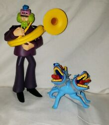 The Beatles Yellow Submarine Figures Lot of 2 McFarlane Toys 1999-2000