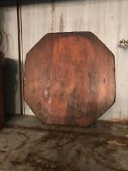 Early Old Primitive Wood Cutting Board