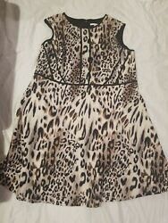 Studio One dress Animal print Sz 24w Beautiful $20.00