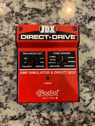 Radial JDX Direct-Drive Active Guitar Amp Direct Box -  Used