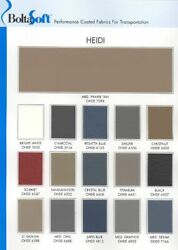 Heidi Soft Vinyl Upholstery for Automotive or General Seating - Sold by the Yard
