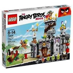 LEGO Angry Birds King Pig's Castle Building Kit (75826)