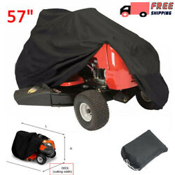 57quot; Lawn Mower Tractor Cover UV Resistant Waterproof Garden Outside Yard Riding $15.19