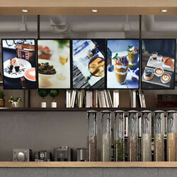 24x33 Restaurant Poster Led Light Box Display Store Advertising Sign Ads Photo $69.00