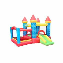 Outdoor&Indoor Doctor Dolphin Inflatable Bounce House Bouncy Castle for Kids