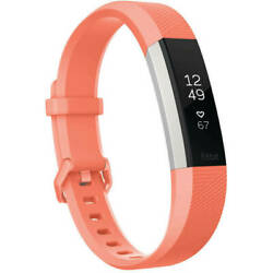 Fitbit Alta HR Heart Rate And Fitness Activity Tracker Coral Small
