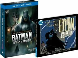 Batman: Gotham by Gaslight (Blu-rayDVD Digital 2018 w Graphic Novel New Sealed