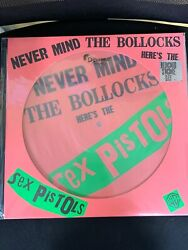 Sex Pistols- Never Mind The Bollocks RSD 2016 Limited Edition Picture Disc Vinyl
