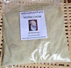 WORM CHOW 30 POUNDS RED WIGGLER WORM FOOD 38% PROTEIN $49.99
