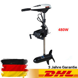 45lbs Electric Trolling Motor 12V Outboard Boat Engine Brush motor 480W