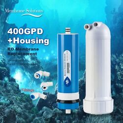 Updated 400 GPD Commercial Water Treatment Membrane Big Flow Compatible +Housing