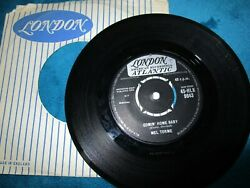 Mel Torme Comin' Home Baby  Right Now. London Record HLK9643 Vinyl 7inch Single