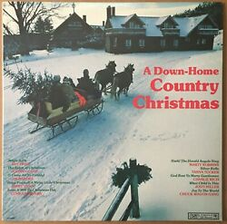 A Down Home Country Christmas Vinyl Lp Record Johnny Cash Charlie Rich Tested