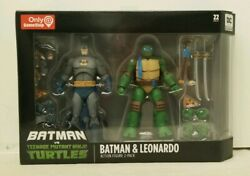 DC Collectibles Batman VS TMNT Gamestop Excl.