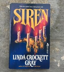 Siren by Linda Crockett Gray - 1989 Paperback - Horror - Out of Print - 1st Ed