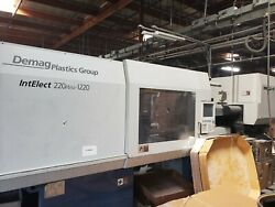 2004 Demag IntElect 220 610 1220 Plastic Injection Molding Machine 220 ton