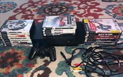 Ps2 Console Bundle With 20 Games