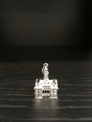 Vintage 80s Sterling Charm London Building Tower Travel 7.70g
