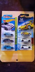 Hot wheels Honda Civic Ef Lot of 6