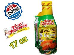 Tony Charchere's Injectables Butter Marinade 17oz Turkey Chicken