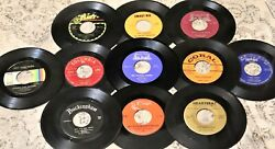 YOU PICK GENRE & DECADE 25 Disc Lot 45 rpm Variety Vinyl Records JukeBox 45's $21.11
