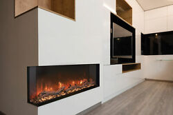 Modern Flames Landscape Pro 78 Multi-Sided Electric Fireplace with LED Lighting