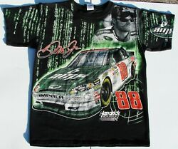 Chase Authentics 88 Dale Jr Amp Energy NASCAR shirt SZ Mens Med Pre-owned
