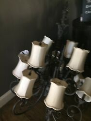 chandelier large Progressive Lighting perfect for She Shed ...beautiful scrolls