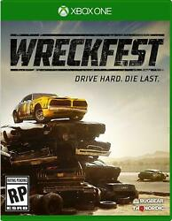Wreckfest Drive Hard Die Last Xbox One BRAND NEW SEALED $31.72