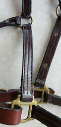 Leather Halter Horse size