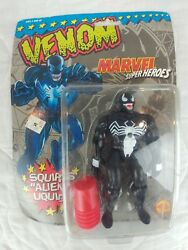 1993 Toy Biz Marvel Super Heroes VENOM Squirts Alien Liquid Action Figure!!