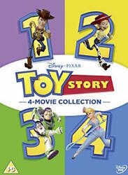 Toy Story I II III IV (6-Disc Set) DVD Combo 1 2 3 4 Complete Collection Movie