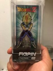 Toy Temple exclusive Majin Vegeta FiGPiN NYCC Excl. Rare!! In Hand! DragonBall Z