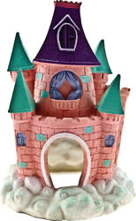 Blue Ribbon Pet Products-Exotic Environments Pixie Castle- Pink