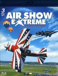 Air Show Extreme: The Skys the Limit (Blu-ray Disc 2011 3-Disc) New Ships Free