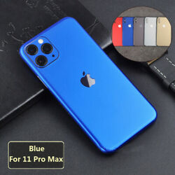 For iPhone 11 Pro XS Max 6 7 8 Plus Soft Film Wrap Sticker Decal Skin Case Cover