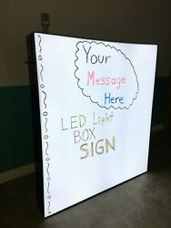 LED Light box SIGN - 48 inches Tall