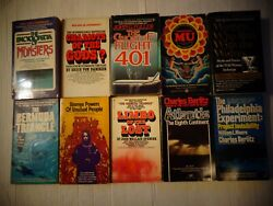 Occult Supernatural Paperback Lot MU Monsters Atlantis Bermuda Triangle
