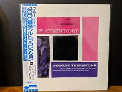STANLEY TURRENTINE - UP AT MINTON'S VOL 2 Blue Note LP! Grant Green Japan NM!!